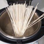 麺を入れる・ホットクックで麺を茹でる方法と手順